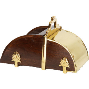 HermanosGomez Portugiesische Steigbügel Smooth Brass