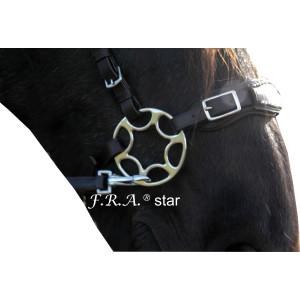 F.R.A. Hackamore Star 85mm Messingfarben