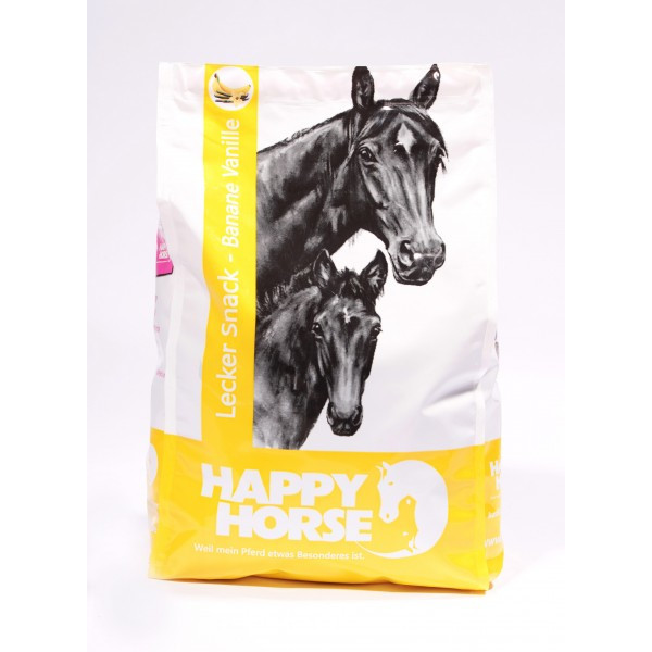 Happy Horse Leckersnack Banane & Vanille 1 kg