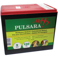 Pulsara Batterie 9V / 130 Ah