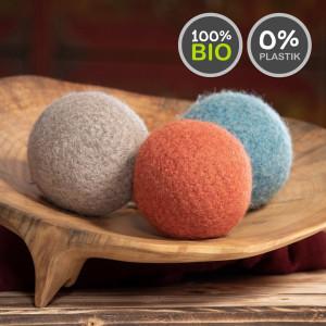 Plastikfreier Bio Spielball Hunde