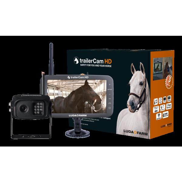 LudaFarm Profi Kamerasystem für den Pferdeanhänger
